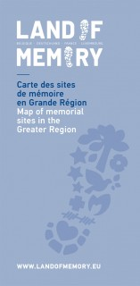 Map of memorial sites in the Greater Region