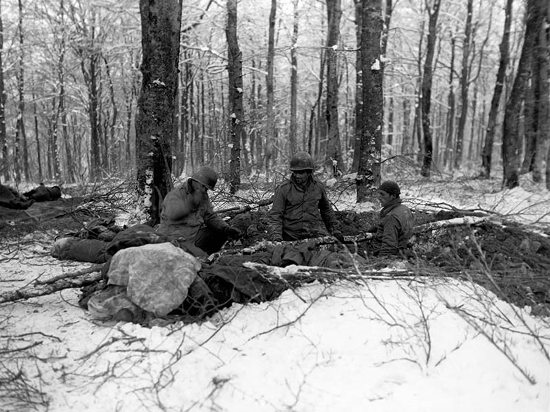 Battle of the Bulge at Shumannseck