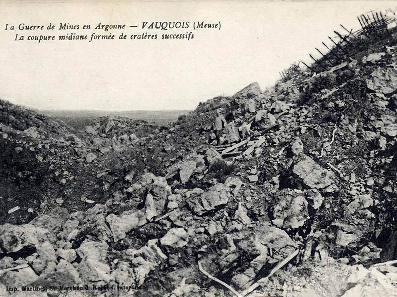 Guerre de mines à Vauquois