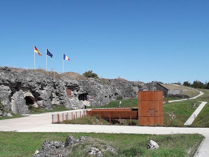 Le fort de Douaumont - Champ de bataille de Verdun