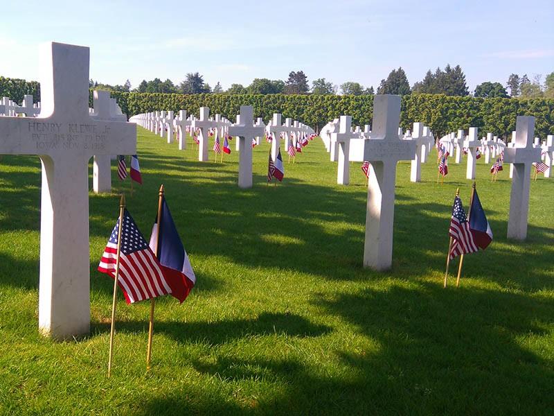 Memorial Day au cimetière américain de Romagne-sous-Montfaucon