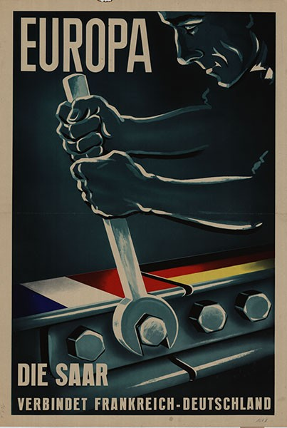 Saarland - Affiche Europe - Archives