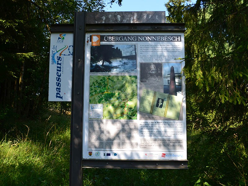 Smugglers' path in Troisvierges