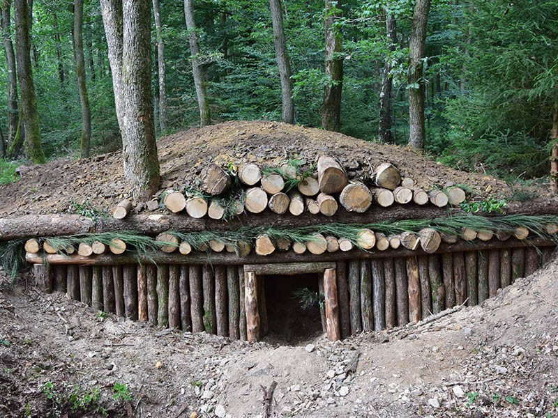 Themed trails - Shelter - Schumannseck
