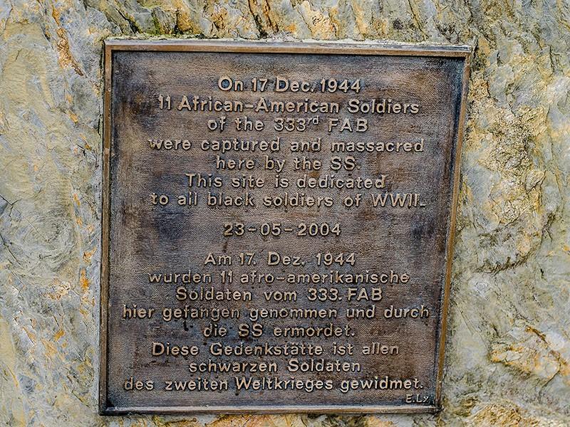 Wereth US Memorial