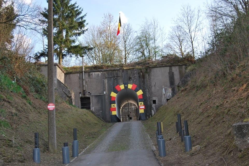 Fort d'Embourg  - Entrée du fort