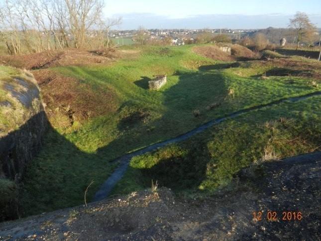 Fort de Flémalle - Site