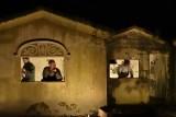 Camp Marguerre de nuit.