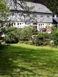 Das Restaurant l'Ermitage, Bistrot des Saveurs - Aussenansicht