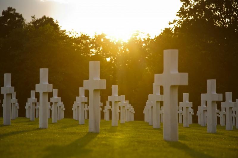 Amerikaanse begraafplaats Ardennen