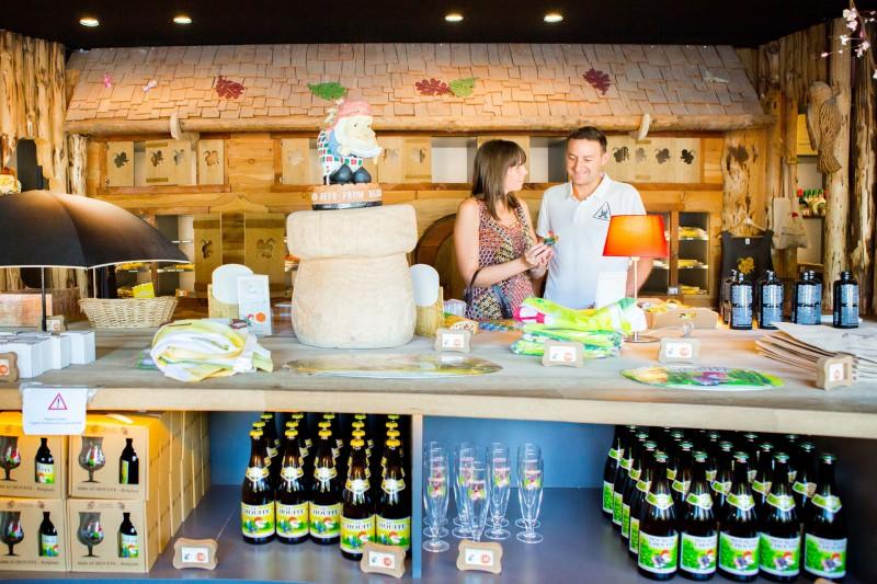 Brasserie Achouffe - Wibrin - Magasin