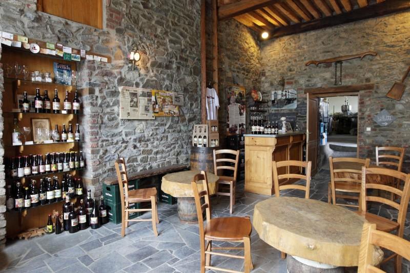 Brasserie Saint-Monon - Ambly - Salle de dégustation