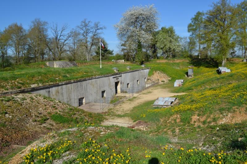 Het fort van La Falouse