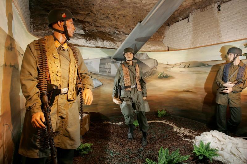 Fort d'Eben-Emael  - Musée - German-Paratroopers