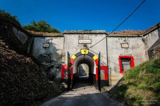 Fort de Flémalle - Entrée du Fort