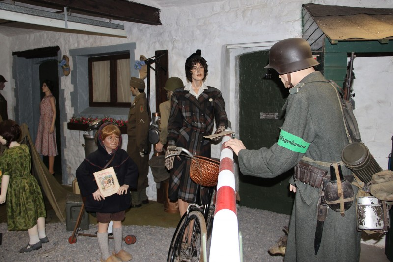 Remember Museum 39-45 - Thimister-Clermont - Scénograhie