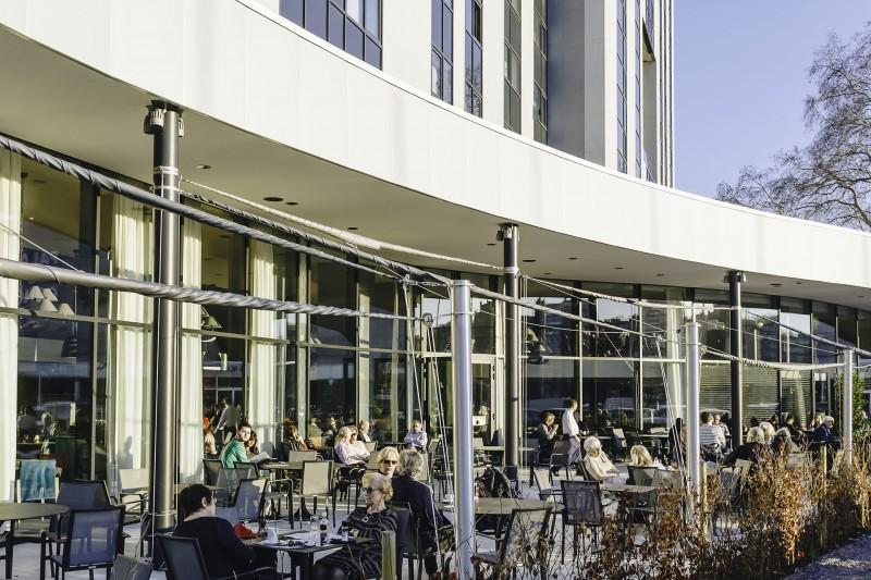 Van der Valk Hotel Liège Congres - Terrasse