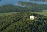 Mémorial américain de la Butte de Montsec - vue aérienne