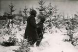 Photo d'archive:  Front Nord de la Bataille des Ardennes.