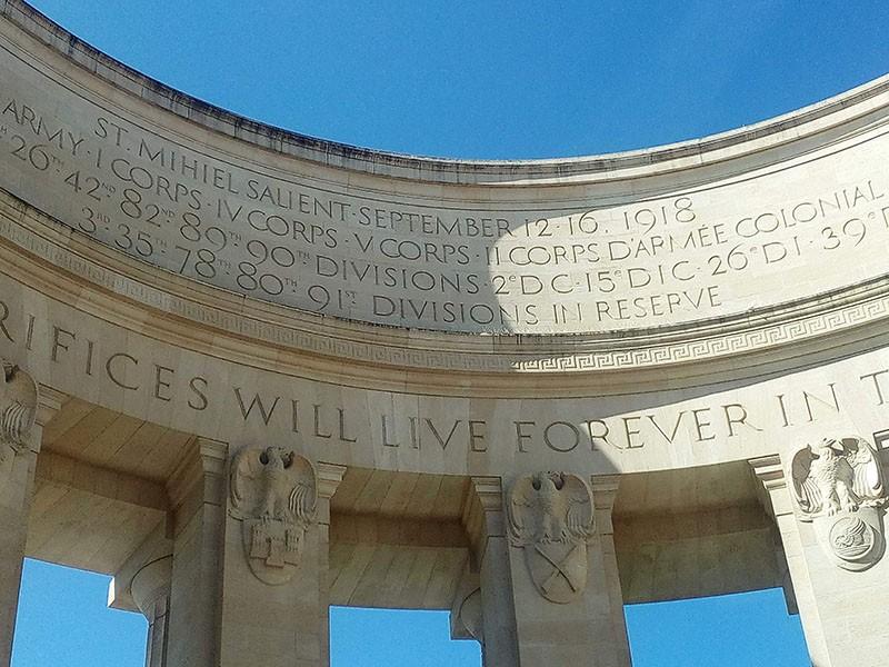 Amerikaans Monument Butte de Montsec