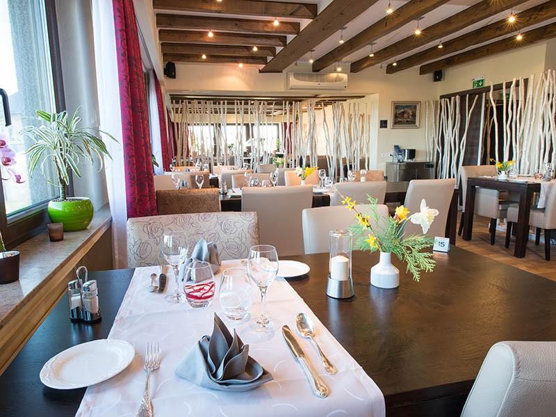 Maaltijd in het Hotel-Restaurant St-Fiacre