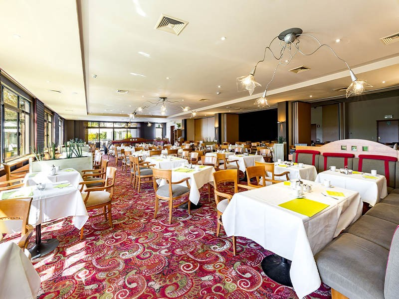 Repas au Silva Hôtel de Spa Balmoral