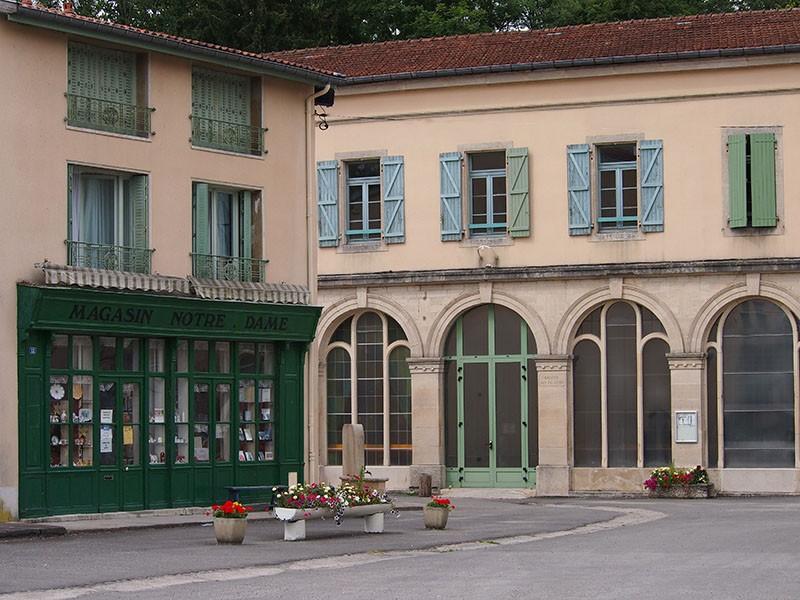 Maaltijd en overnachting bij de Accueil Benoite-Vaux