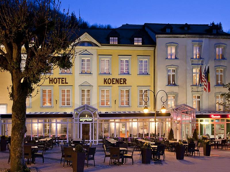 Maaltijd en overnachting in Hotel Koener
