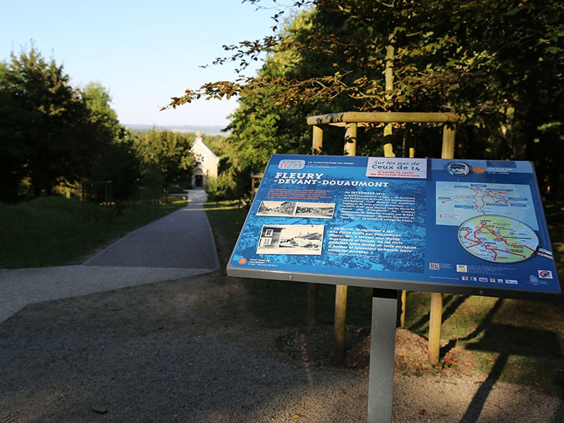 Village détruit de Fleury