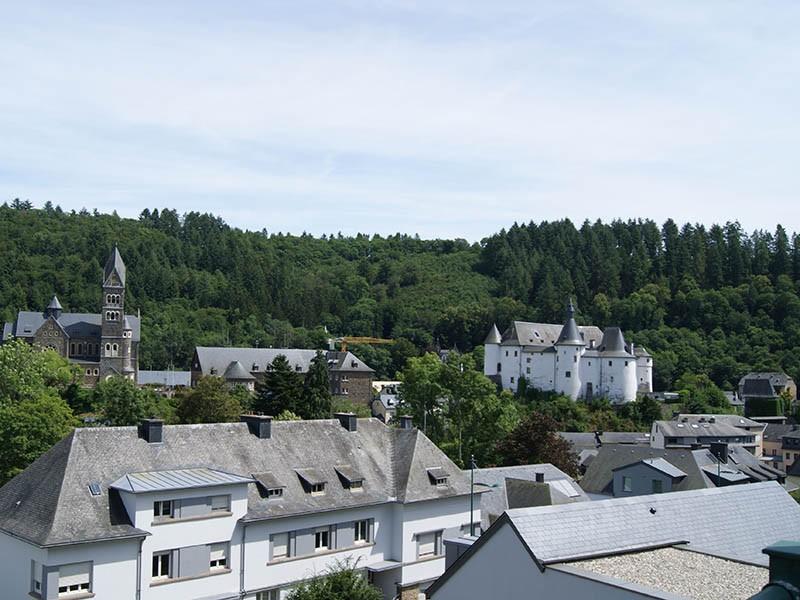 Bezoek aan de stad Clervaux